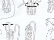 Cómo agujar cuerda escalada