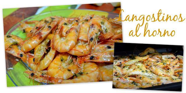Langostinos al horno paperblog for Langostinos al horno