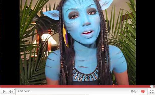Maquillaje Avatar Make Up Avatar Edit Avatar Blue Movie Makeup