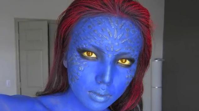 Maquillaje Avatar Mujer Mujer Araa With Maquillaje Avatar Mujer