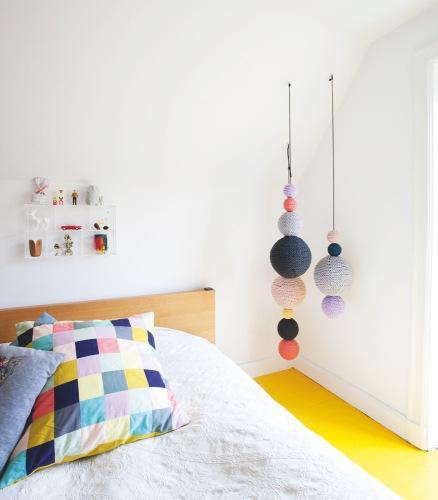 7da8645976c2 Frío o Caliente? Bolas de crochet colgantes para decorar - Paperblog