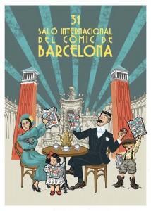 Cartel del XXXI Saló del Còmic de Barcelona