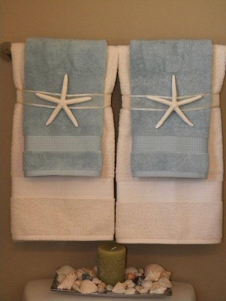 C mo colocar las toallas en el ba o paperblog for Adornos con toallas