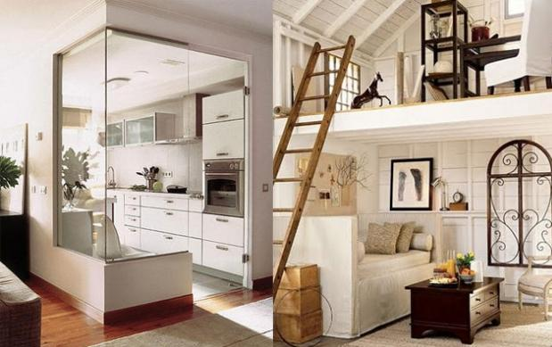 Aprovechar los espacios peque os paperblog for Ideas de cocinas para espacios pequenos