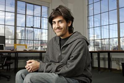 Los amigos del suicida Aaron Swartz