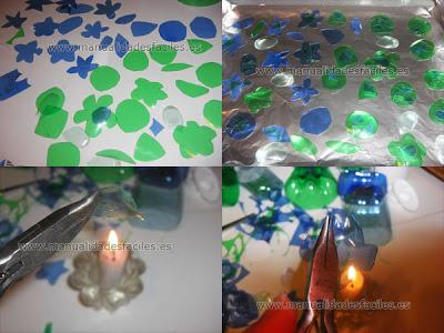 Bisuteria hecha con botellas de plástico