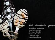 receta cucharas chocolate caliente
