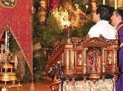 Solemnidad asistencia multitudinaria bendición Simpecado Divina Pastora Arahal