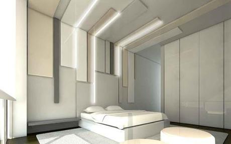 Nueva propuesta para el interiorismo de la vivienda A-cero en Beirut: Planta Primera