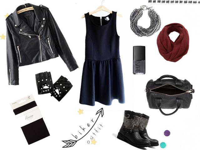 #h&m; Little Black Dress_3 outfits