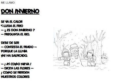 Invierno Poemas Y Fichas 1660237