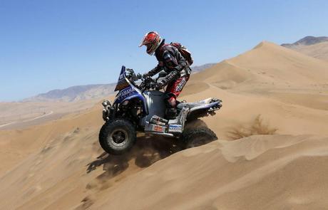 Marcos PATRONELLI, campeón rally Dakar en Quads