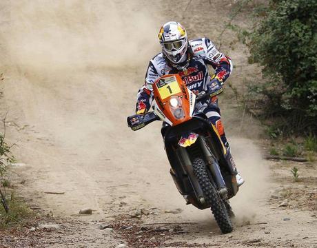 Cyril DESPRES, campeón Dakar en motos