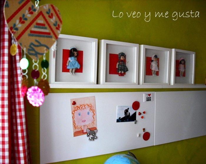 Ribba de ikea y mi colecci n de mariquitas p rez paperblog - Ikea marcos cuadros ...