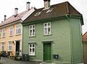 Norway: Bergen descubriendo famoso Bryggen