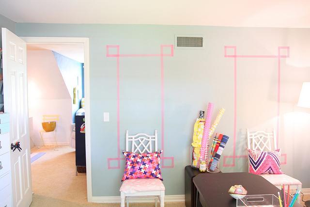 5 ideas para decorar tu pared con washi tape paperblog - Decorar con washi tape ...