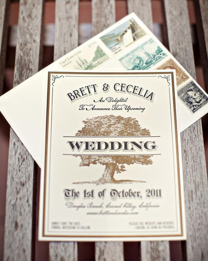 una invitacin de boda muy original