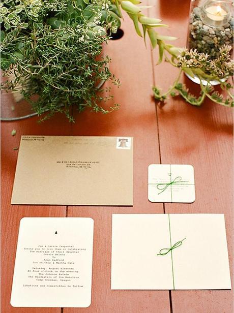 una invitación de boda muy original