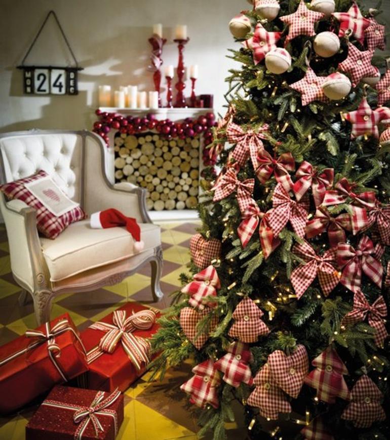 Un rbol de navidad para tu hogar paperblog - Como adornar un arbol de navidad blanco ...
