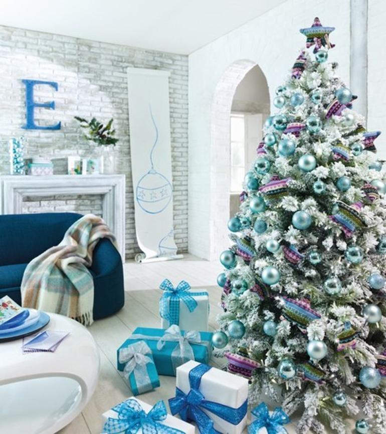 Un rbol de navidad para tu hogar paperblog - Como hacer un arbol de navidad blanco ...