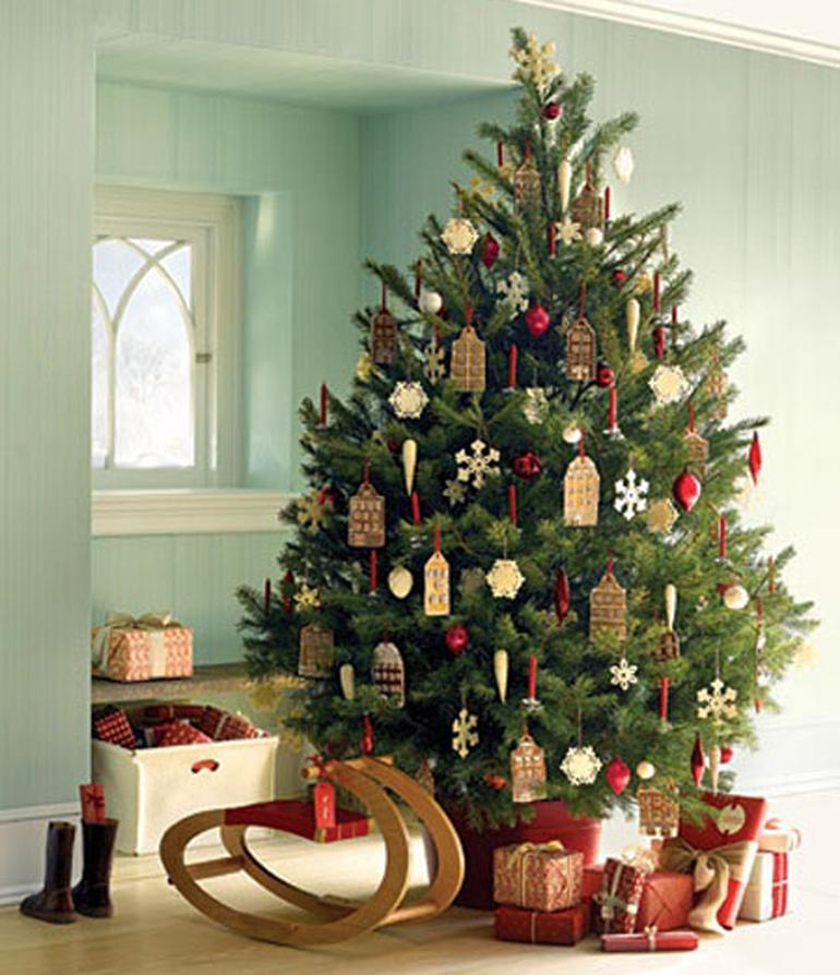 Un rbol de navidad para tu hogar paperblog - Decoracion arbol navidad 2015 ...