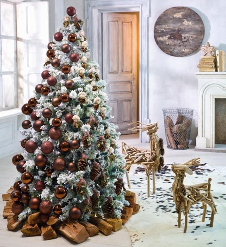 Un rbol de navidad para tu hogar paperblog for Decoracion del hogar navidad 2015
