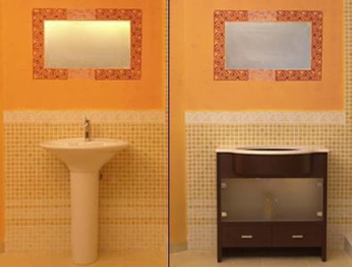 C mo montar un mueble para el lavabo paperblog - Como hacer un mueble para el lavabo ...