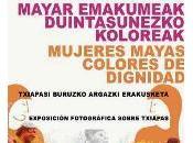 "Proyecto Ekologistak Martxan Iruñea ""Mujeres mayas, colores dignidad"""