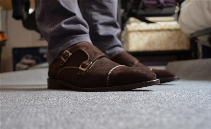 Review Monkstrap Doble Hebilla de Harry´s 1982.