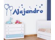 Vinilos decorativos nombres, para Alejandro