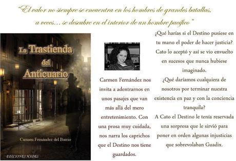 #31 LA TRASTIENDA DEL ANTICUARIO de Carmen Fernández del Barrio