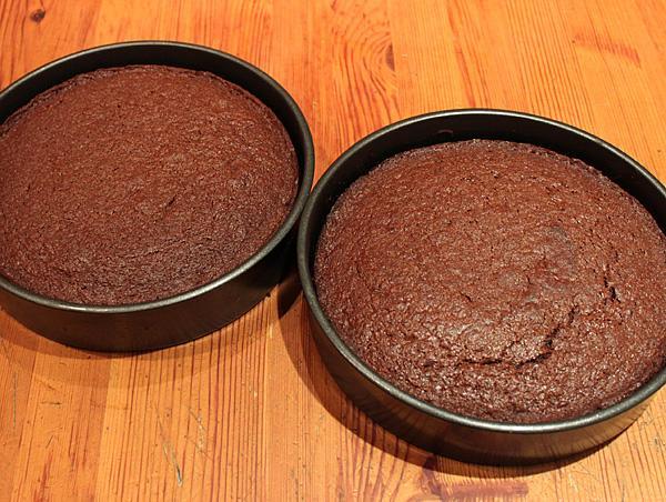 preparar torta de chocolate
