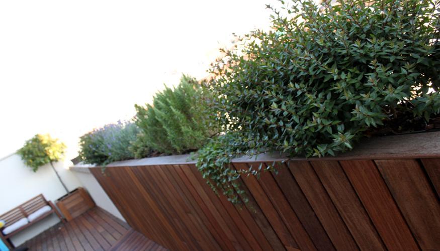 Dise o moderno de jard n en tico paperblog - Jardines en aticos ...