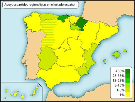 REGIONALISMO Y NACIONALISMO EN ESPAÑA  (PRIMERA PARTE)
