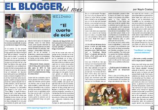 El blogger del mes en Zapping Magazine