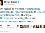 Anna Paquin, Ellen Page Shawn Rashmore Estaran X-Men: Days Future Past