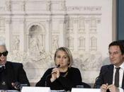 Karl Lagerfeld Silvia Fendi presentaron proyecto restauración Fontana Trevi