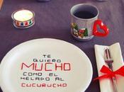 DIY: Platos mensaje para Valentín