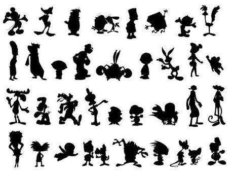 cartoon_silhouettes