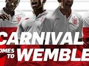 gala. Convocatoria Inglaterra para enfrentarse Brasil febrero