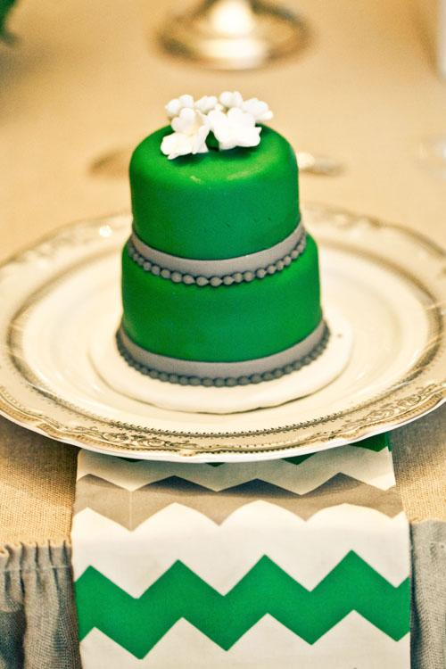 Lime Green Cake Boxes