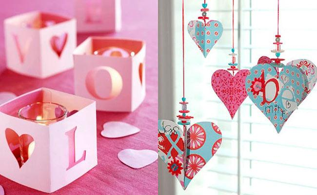 Decoraci n para san valent n paperblog for Decoracion de pared para san valentin