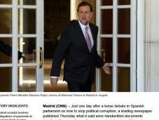 Grandes diarios internacionales hacen corrupción España