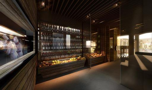 A cero presenta un proyecto de interiorismo para el for Interiorismo restaurantes