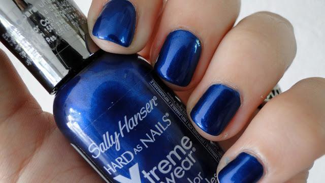 Azul Eléctrico En Las Uñas Paperblog