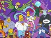 Simpsons como personajes Spiderman
