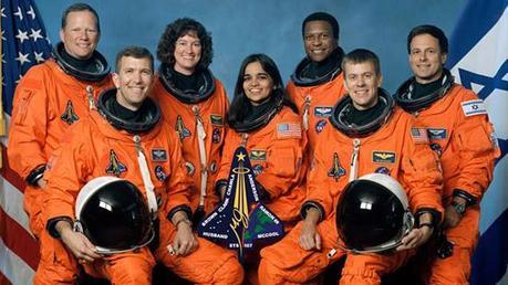 Carrera espacial:  A los diez años del trágico accidente del transbordador Columbia.