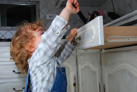 Cómo evitar accidentes infantiles en la cocina