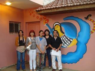 MURAL para los niños de Pueblo Nuevo