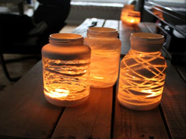 Ideas para decorar t jard n reciclando paperblog - Velas jardin ...